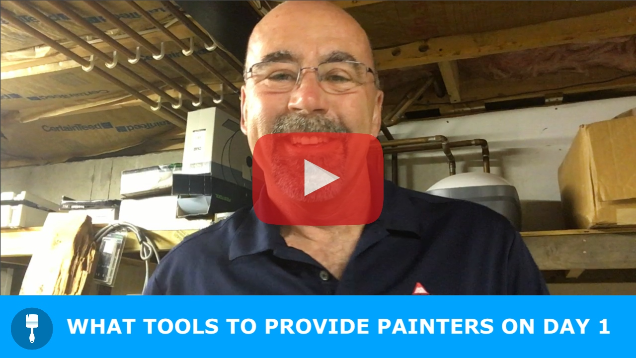 What Tools to Provide Painters on Day One
